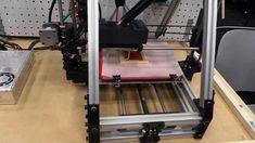 A 3-D Printer Makes A Pizza