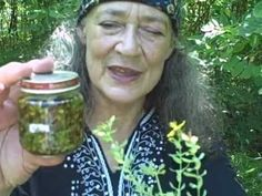 Herbal Healing Wise Woman Way Hypericum - St Joan/John's Wort - with Susun Weed. Wish I had an sliver of the knowledge this woman has!!