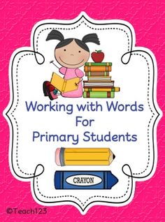 Working with Words for Primary Students $