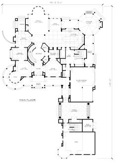 First Floor Plan of Farmhouse  Victorian   House Plan 87643