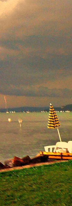 Before the Storm: #Lake  #Balaton #Hungary