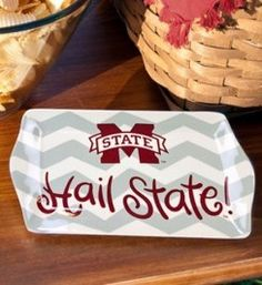Score this Christmas with Coton Colors collegiate ornaments. University Of Mississippi, Mississippi State, State University, Coton Colors, Hot Toddy, Matching Gifts, Grad Parties, School Spirit, Easy Gifts