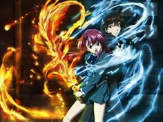 Kaze no Stigma. One I still need to finish, but am enjoying so far. A lot of magic with this, as well as family politic stuff. Good if you like the elemental and fighting bad guys stuff.