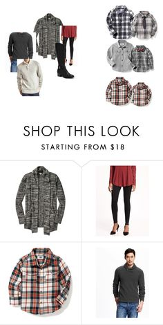 """""""Anne- charcoal's and reds or oranges"""" by pishposhstyling on Polyvore featuring Old Navy"""