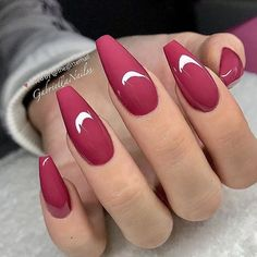 Latest Nail Trends for Winter 2020 – Nail Art Design Ideas for Best Acrylic Nails, Acrylic Nail Designs, Nail Art Designs, Winter Nail Art, Winter Nails, Fancy Nails Designs, Nagellack Trends, Coffin Nails Long, Gorgeous Nails
