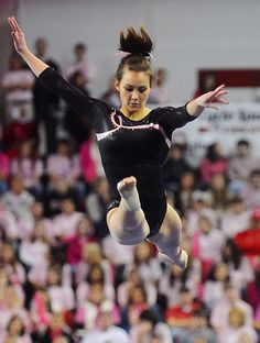 See more of Utah's Kristina Baskett on a dedicated board: http://pinterest.com/kythoni/kristina-baskett ||  a 9.825 on floor in the Ute's loss to the Georgia Gym Dogs Monday, Jan. 19, 2009, at Stegeman Coliseum in Athens, GA. Ute gymnastics, gymnast