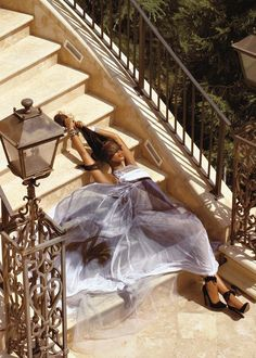 Naomiphotographedby Steven Meisel,Vogue Italia July 2008