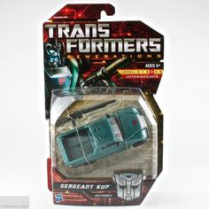 Transformers Generations Sergeant Kup Autobot Deluxe Class Hasbro MOMC Brand New #Hasbro