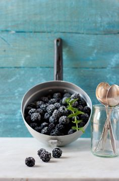 About Hedgerows And Blackberries Macaroon Tart