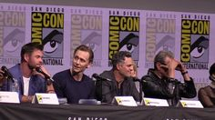 Thor: Ragnarok - San Diego Comic Con 2017 Panel with Tom Hiddleston and Chris Hemsworth - YouTube