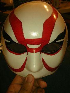 Yokai mask from big hero 6 movie