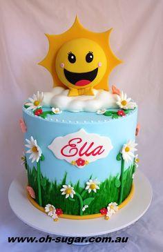 Sunshine Cake Art
