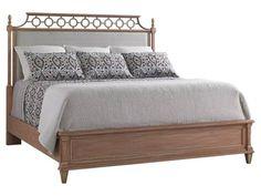Stanley Furniture Preserve Rose King Botany Platform Bed