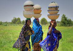 Fulani Women in Nigeria by Iris (Irene Becker) Black Is Beautiful, Beautiful Images, Beautiful People, Tribal People, Tribal Women, People Art, Out Of Africa, West Africa, Volunteer In Africa