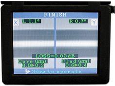 La pantalla de un empalmador Madrid, Fiber, Computers, Display