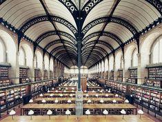 Bibliothèque Sainte Geneviève, Paris, França