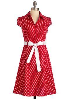 Hepcat Dress in Cherry, #ModCloth