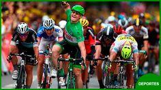 El alemán Andre Greipel gana 5ta etapa de Tour de Francia Martin aún líder