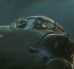 Vintage Aeroplanes A Terrifying Beauty – the Art of Piotr Forkasiewicz > Vintage Wings of Canada - Ww2 Aircraft, Military Aircraft, Modern History, Women's History, Ancient History, Lancaster Bomber, Air Festival, Airplane Art, War Image