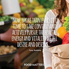 Now is the time!  www.foodmatters.tv