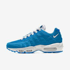 Air Max 95, Nike Air Max, Green Bay Packers Game, Packers Games, Air Max Sneakers, Sneakers Nike, Nike Co, Custom Shoes, Shoe Game