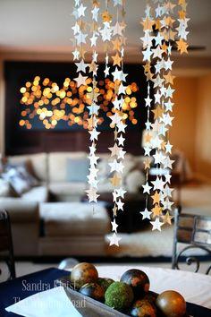 star garland | 25+ Oscar Party Ideas