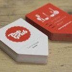 Design per biglietti da visita professionali e creativi