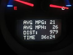 MPG On The Rise