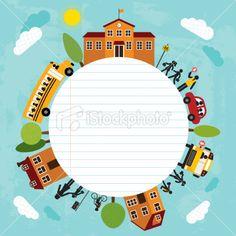 Back To School (Series) Royalty Free Stock Vector Art Illustration