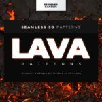 Seamless lava patterns for scorching-hot design work and underworld games. If you know DesignerCandies, you know we love a good pattern. Game Textures, Textures Patterns, 3d Pattern, Tile Patterns, Underworld Games, 3d Tiles, Background Patterns, Lava, Good Times