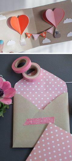 DIY Valentine Pop-Up Card | DIY Valentines Cards for Kids to Make