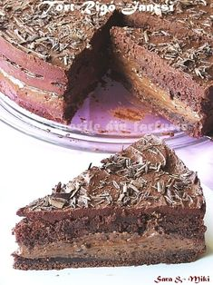 Tort Rigó Jancsi 4 Riga, Tiramisu, Ethnic Recipes, Desserts, Food, Cakes, Tailgate Desserts, Deserts, Cake Makers