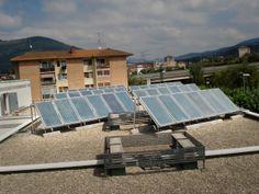 Paneles solares en L
