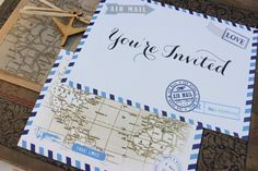 Wedding Wanderlust: 21 Top Travel Theme Wedding Ideas | weddingsonline