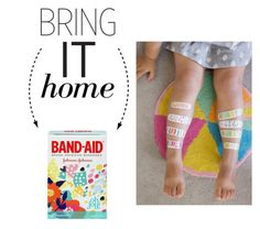 """Bring It Home: Band-Aid Oh Joy Adhesive Bandages"" by polyvore-editorial ❤ liked on Polyvore featuring interior, interiors, interior design, home, home decor, interior decorating and bringithome"