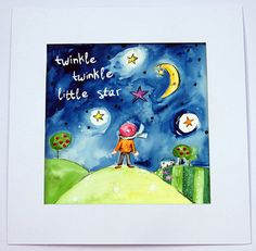 Twinkle Twinkle Little Star Painting / by WithHugsandKisses