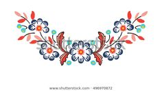 Find Neck Embroidery Vector stock images in HD and millions of other royalty-free stock photos, illustrations and vectors in the Shutterstock collection. Embroidery Neck Designs, Embroidery Bags, Embroidery Fashion, Embroidery Stitches, Embroidery Patterns, Folk Art Flowers, Flower Art, Bordado Popular, Mexican Art Tattoos