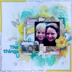 Sassy Scrapper: Crate Paper and Gelatos page layout with Video Tutorial