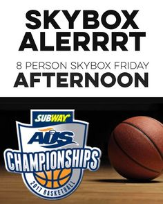 ICYMI You & 7 friends get my skybox  DOUBLE CONTEST ALERT because CIAU BASKETBALL IS BACK... . doubleheader: Friday March 3 Quarterfinal #1: Acadia (5) vs. UPEI (4) 1 p.m. Quarterfinal #2: Memorial (6) vs. Cape Breton (3) 3 p.m. . . AFTERNOON AND EVENING DOUBLE HEADERS ARE HAPPEING & I'M GIVING AWAY SKYBOXES TO BOTH. . (this is always such a fun weekend) . OK. SO.  I've got a couple 8 person SKYBOXES to give away. . One for the afternoon doubleheader the other the evening doubleheader. Both…