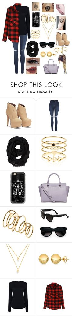"""""""Jenny"""" by cri-bad on Polyvore featuring moda, George, Old Navy, Accessorize, Casetify, MICHAEL Michael Kors, H&M, Balenciaga, BaubleBar e TEM"""