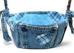 Image detail for -Denim Basket: Fathers Day Gifts - Fun Crafts for Kids - Kaboose.com