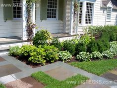 great site for foundation plantings