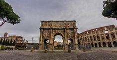 Arco di Costantino - Arco di Costantino, Rome