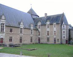Laval (Mayenne) - Château Vieux - XII-XIIIème