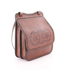 Hand Crafted Authentic Fantastic Leather Goods Bags Turkish Ethnic Bags