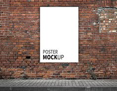 Free Poster Mock up (100 MB) | savethegraphics.com