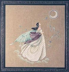 Fairy Moon  3/4 done - for Lily  http://www.mirabilia.com/crossStitchFrames/md2.html