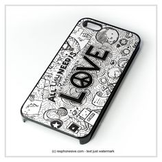 All You Need Is Love  iPhone 4 4S 5 5S 5C 6 6 Plus , iPod 4 5 , Samsung Galaxy S3 S4 S5 Note 3 Note 4 , HTC One X M7 M8 Case