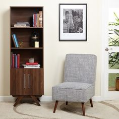 Shop for Simple Living Ashfield Mid-Century Walnut Finish Bookcase. Get free shipping at Overstock.com - Your Online Furniture Outlet Store! Get 5% in rewards with Club O!