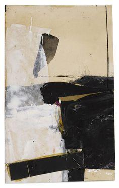"FRANZ KLINE Black and White Collage (étude pour ""Accent aigu""), 1957 Techniques mixtes . -You can find Albania and more on our website.FRANZ KLINE Black and White Collage (étude pour ""Accent aigu""), 1957 Techniques mi. Franz Kline, Contemporary Abstract Art, Modern Art, Arte Yin Yang, Action Painting, Painting Art, Painting Abstract, Painting Lessons, Henri Matisse"